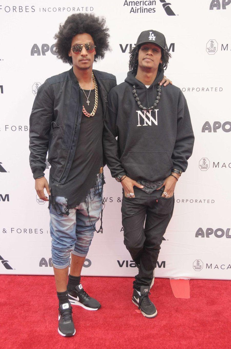 Les Twins, le 13 juin 2016 à New York.