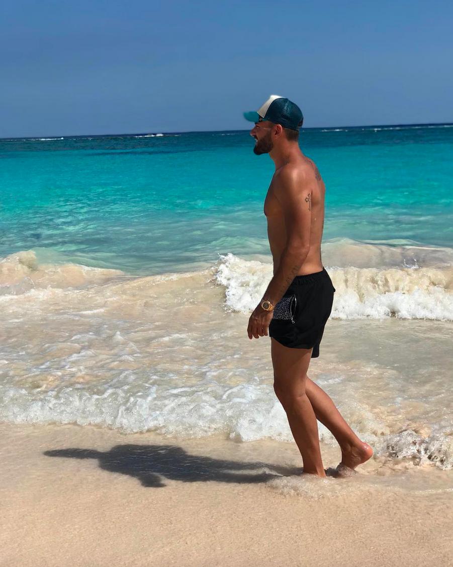 Thomas Vergara aux Bermudes en juillet 2018