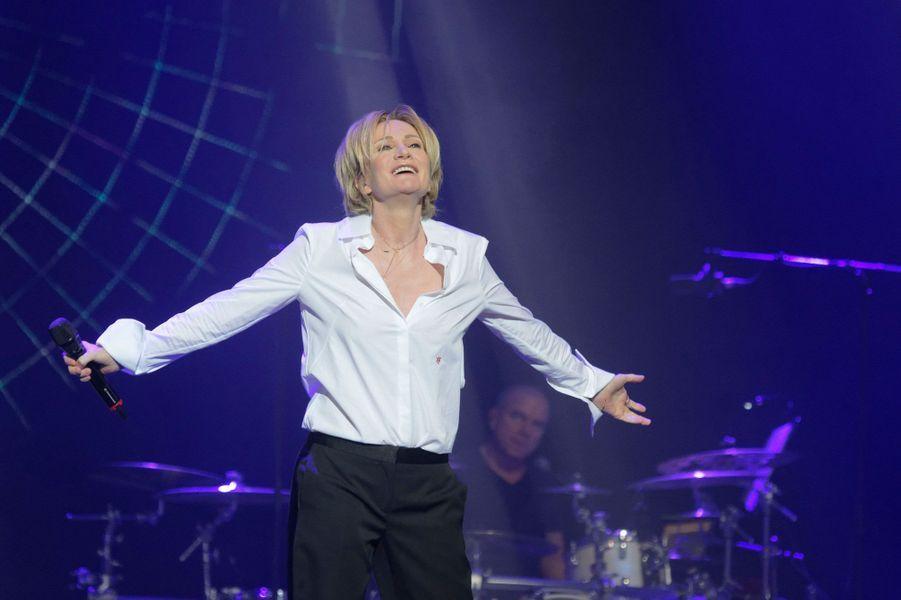 """Patricia Kaas au concert """"Leurs voix pour l'espoir"""""""