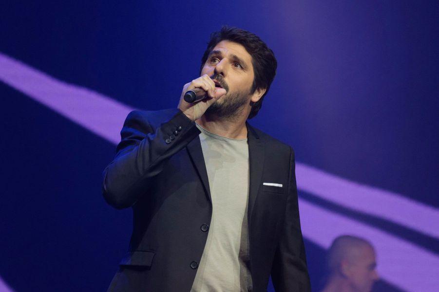 """Patrick Fiori au concert """"Leurs voix pour l'espoir"""""""