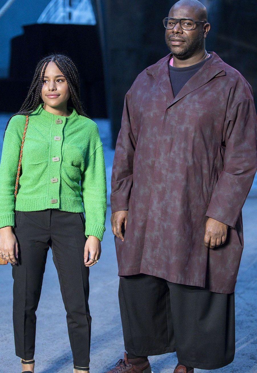 Steve McQueen et sa fille Alex McQueen
