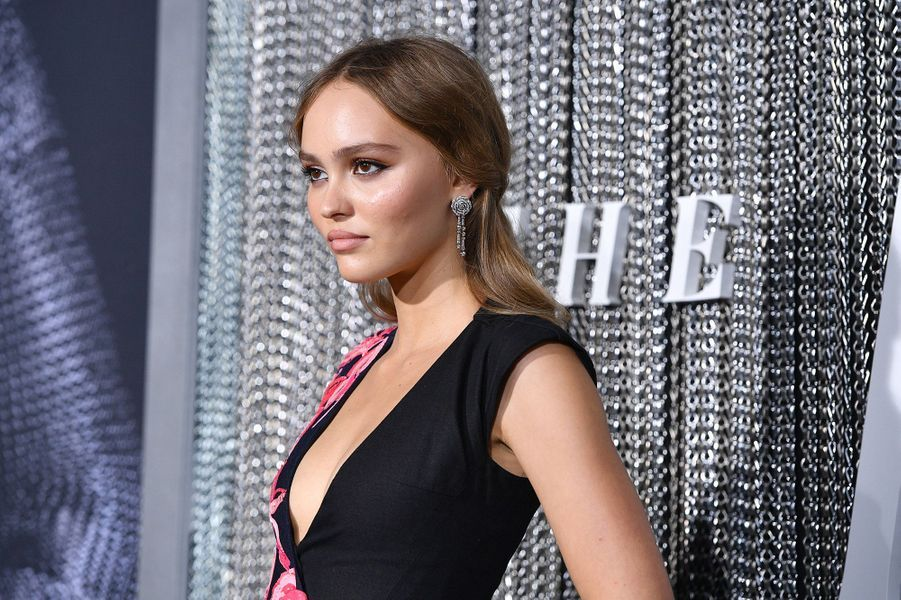 Lily Rose Depp à la Première de «The King» au SVA Theater, New York, mardi 1er octobre.