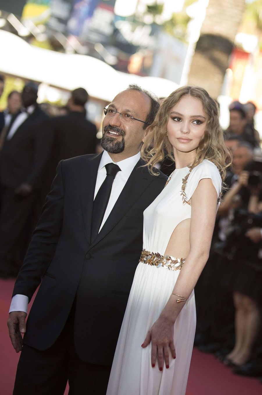 Asghar Farhadi et Lily-Rose Depp