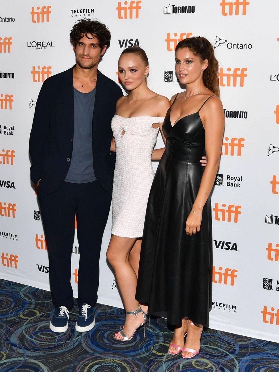 Lily-Rose Depp, Laetitia Casta et Louis Garrel