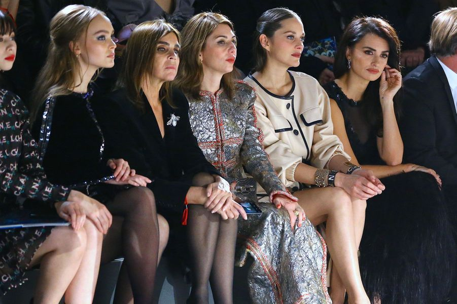 Lily Rose Depp, Carine Roitfeld, Sofia Coppola, Marion Cotillard, Penelope Cruz