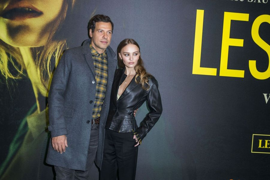 Lily-Rose Depp et Laurent Lafitte