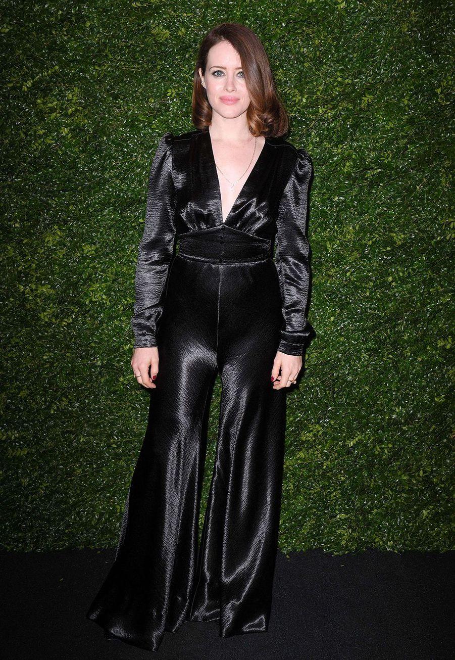 Claire Foylors de la soirée Chanel organisée en marge des BAFTA à Londres le 1er février 2020