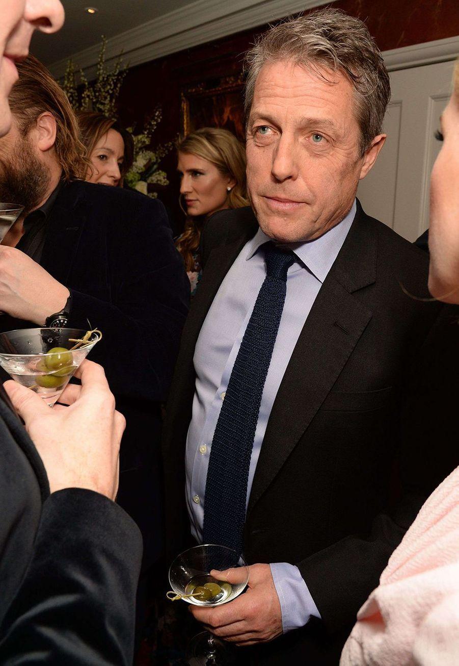 Hugh Grant lors de la soirée Chanel organisée en marge des BAFTA à Londres le 1er février 2020