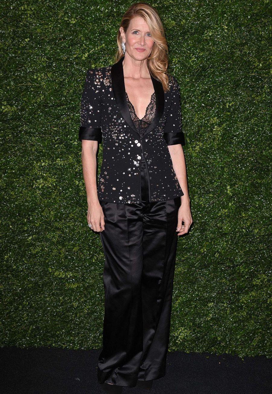 Laura Dern lors de la soirée Chanel organisée en marge des BAFTA à Londres le 1er février 2020