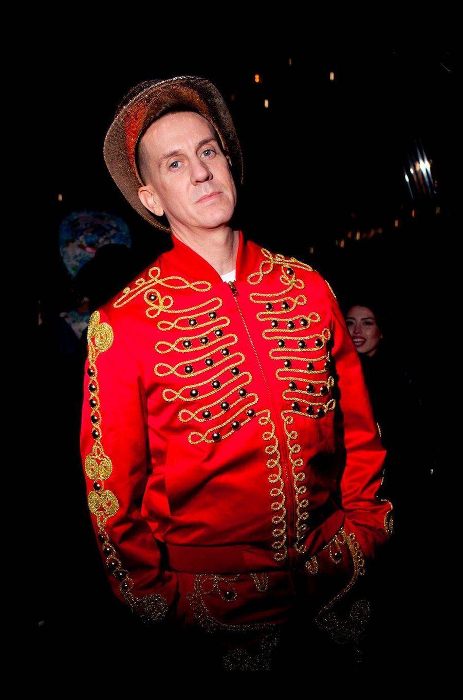 Jeremy Scott à la soirée Halloween de Chanel et V Magazine