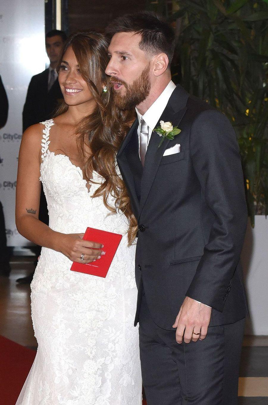 Lionel Messi etAntonella Roccuzzo se sont mariés vendredi en Argentine