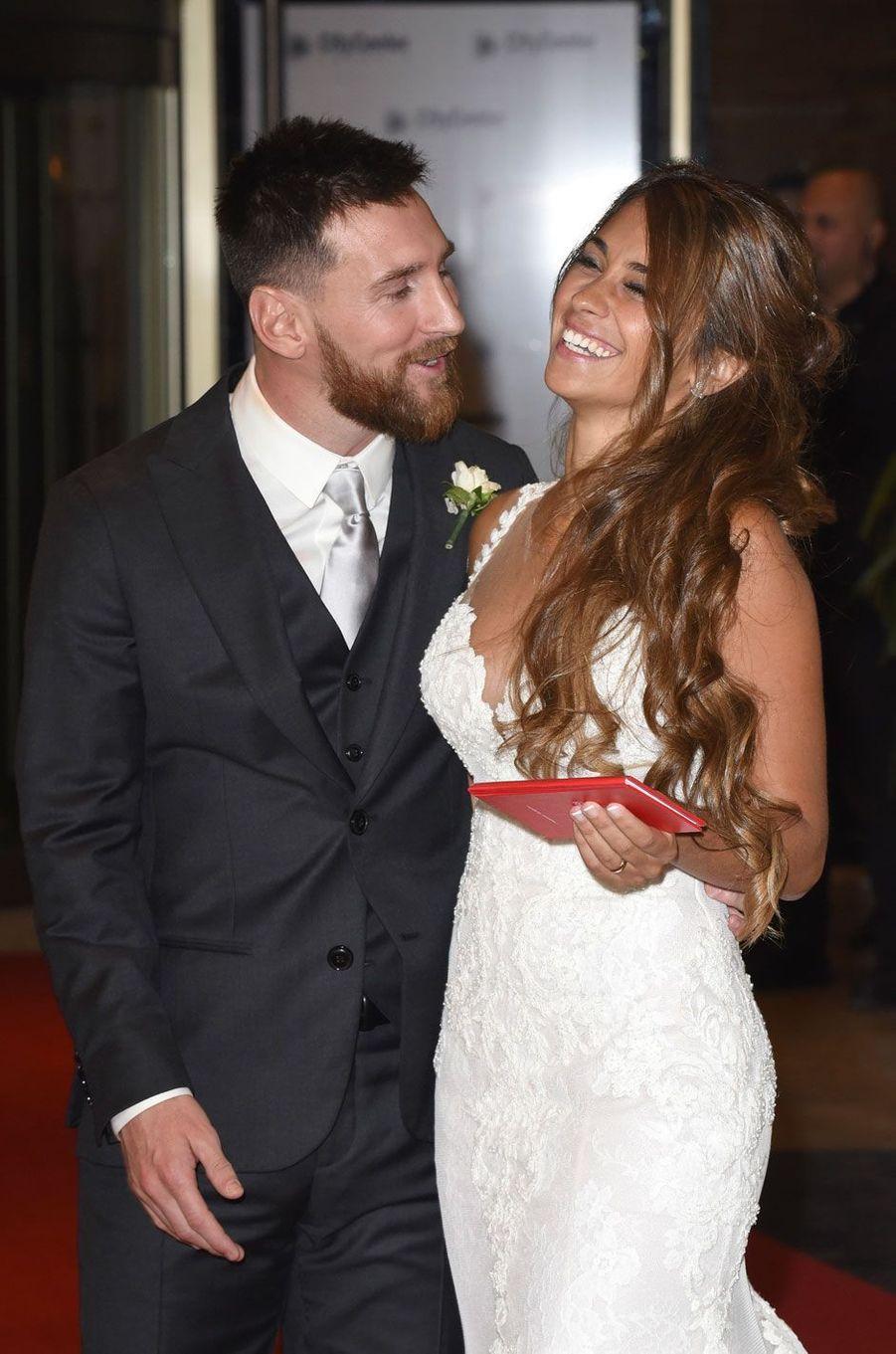 Lionel Messi etAntonella Roccuzzo se sont rencontrés il y a dix ans