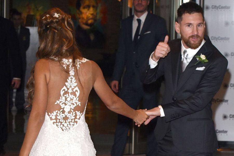 Lionel Messi etAntonella Roccuzzo
