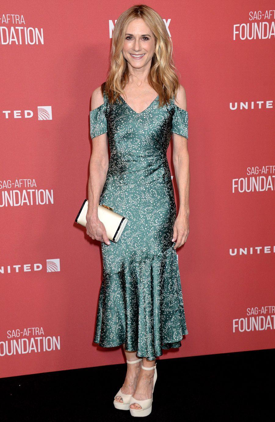 Holly Hunterà la soirée des SAG- AFTRA Foundation's Patron of the Artists Awards à Los Angeles, le 9 novembre 2017.