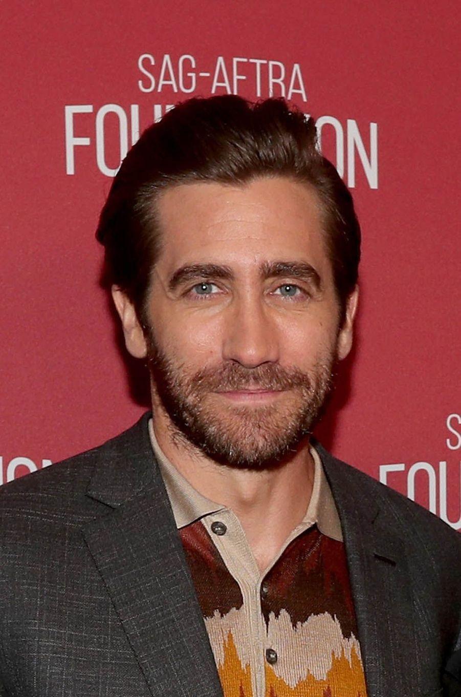 Jake Gyllenhaalà la soirée des SAG- AFTRA Foundation's Patron of the Artists Awards à Los Angeles, le 9 novembre 2017.