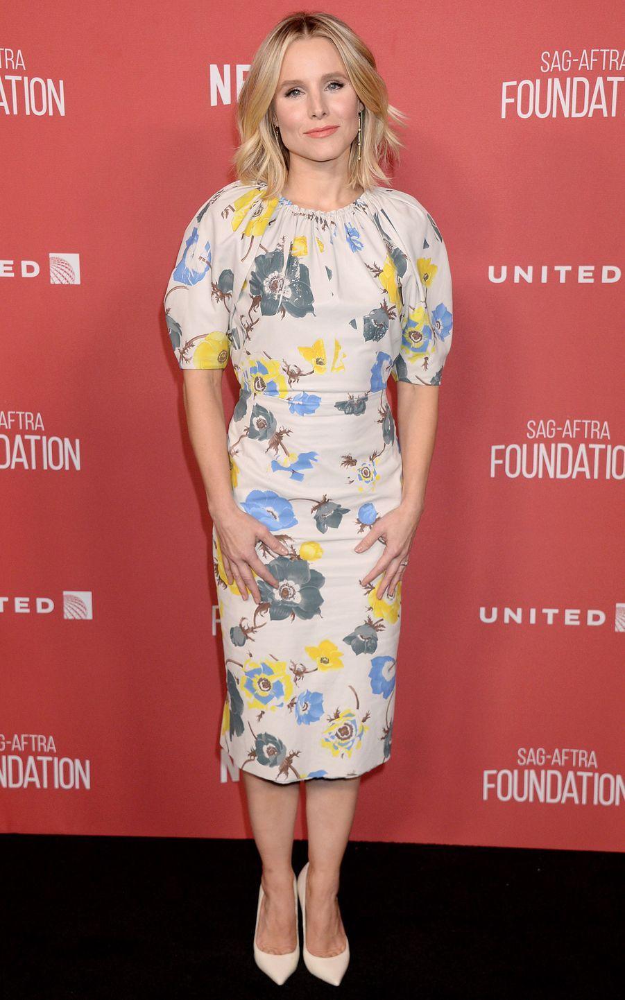Kristen Bellà la soirée des SAG- AFTRA Foundation's Patron of the Artists Awards à Los Angeles, le 9 novembre 2017.