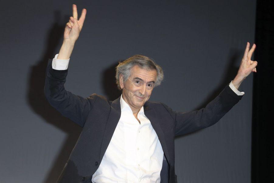Bernard-Henri Lévy au final.