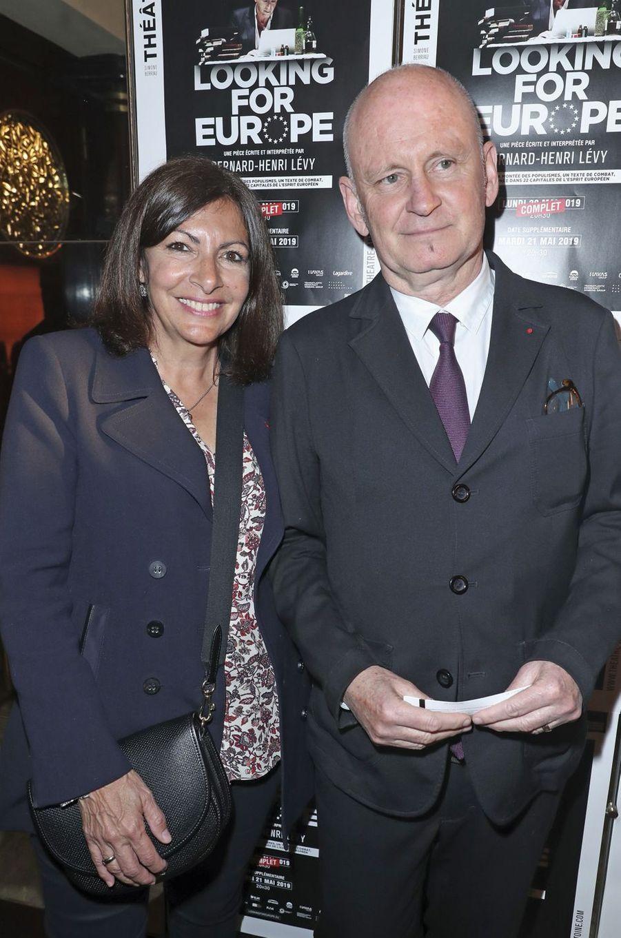 Anne Hidalgo, Christophe Girard.