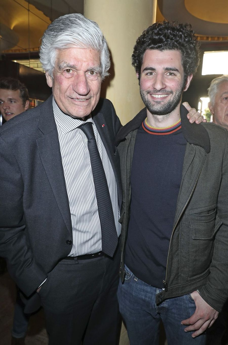 Maurice et Nicolas Lévy.