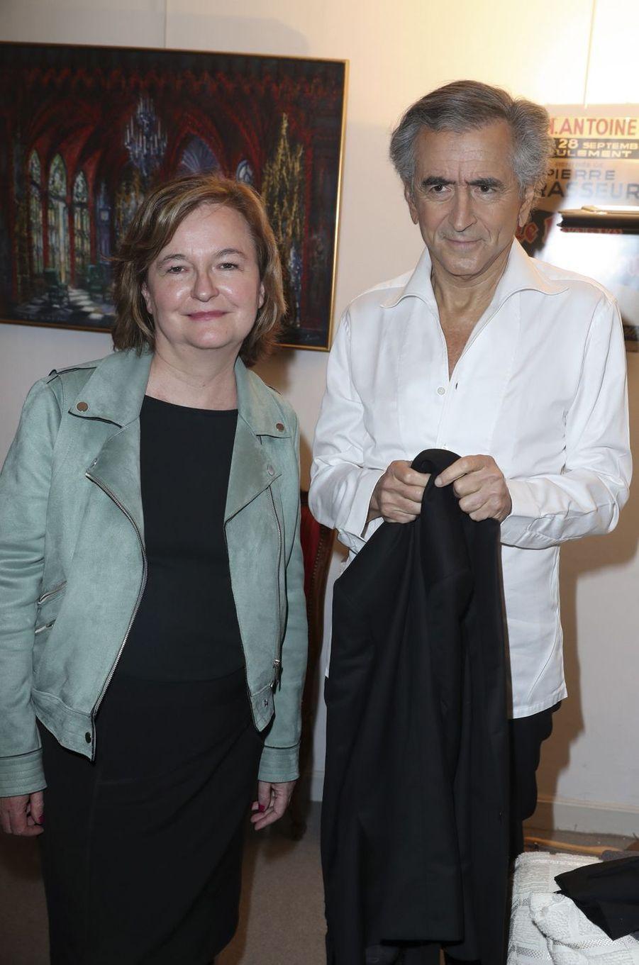 Nathalie Loiseau, Bernard-Henri Lévy.