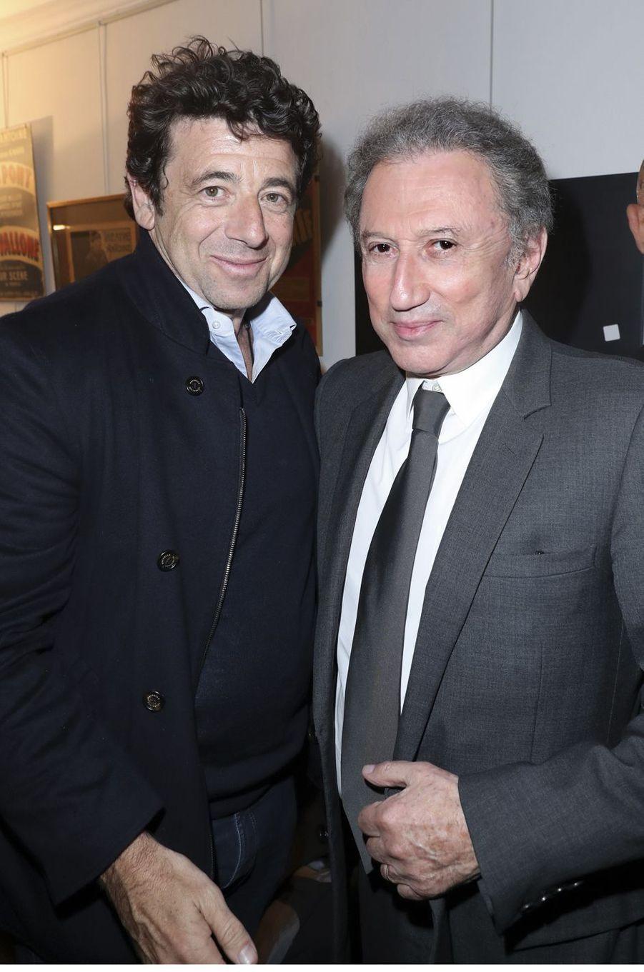 Patrick Bruel, Michel Drucker.
