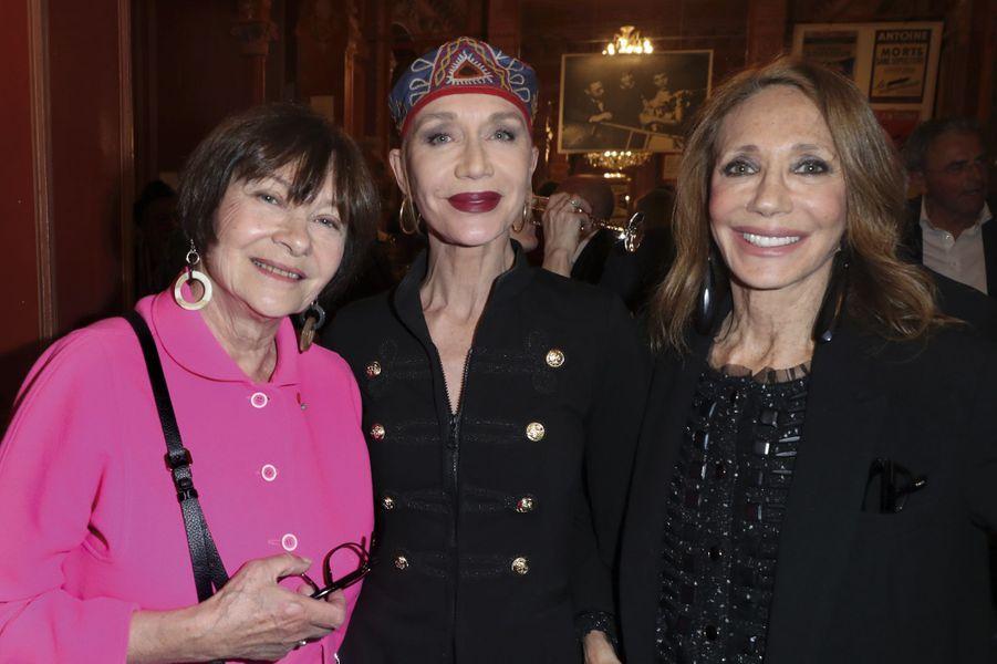 Macha Méril, Katinka de Montal, Marisa Berenson.