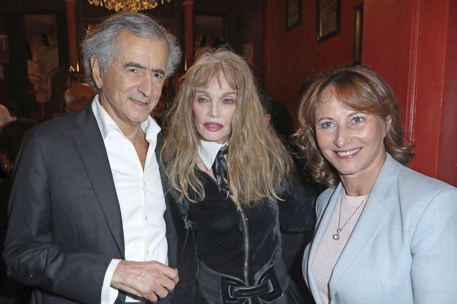 Bernard-Henri Lévy et Arielle Dombasle, Ségolène Royal.