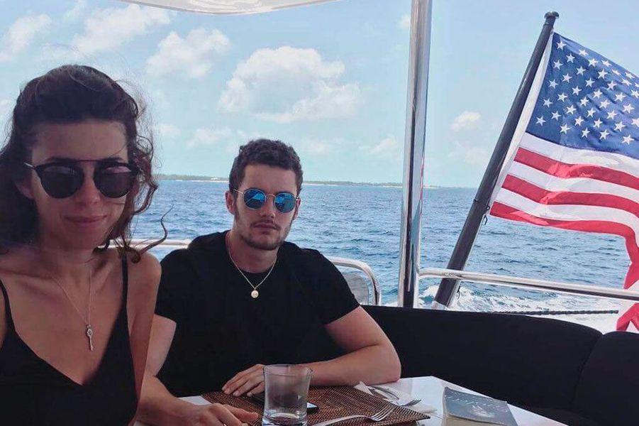 Natali Husic et Louis Sarkozy
