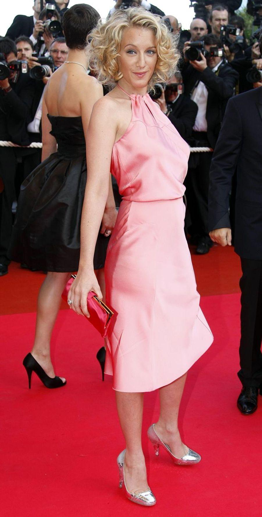 Ludivine Sagnier au festival de Cannes en 2008.
