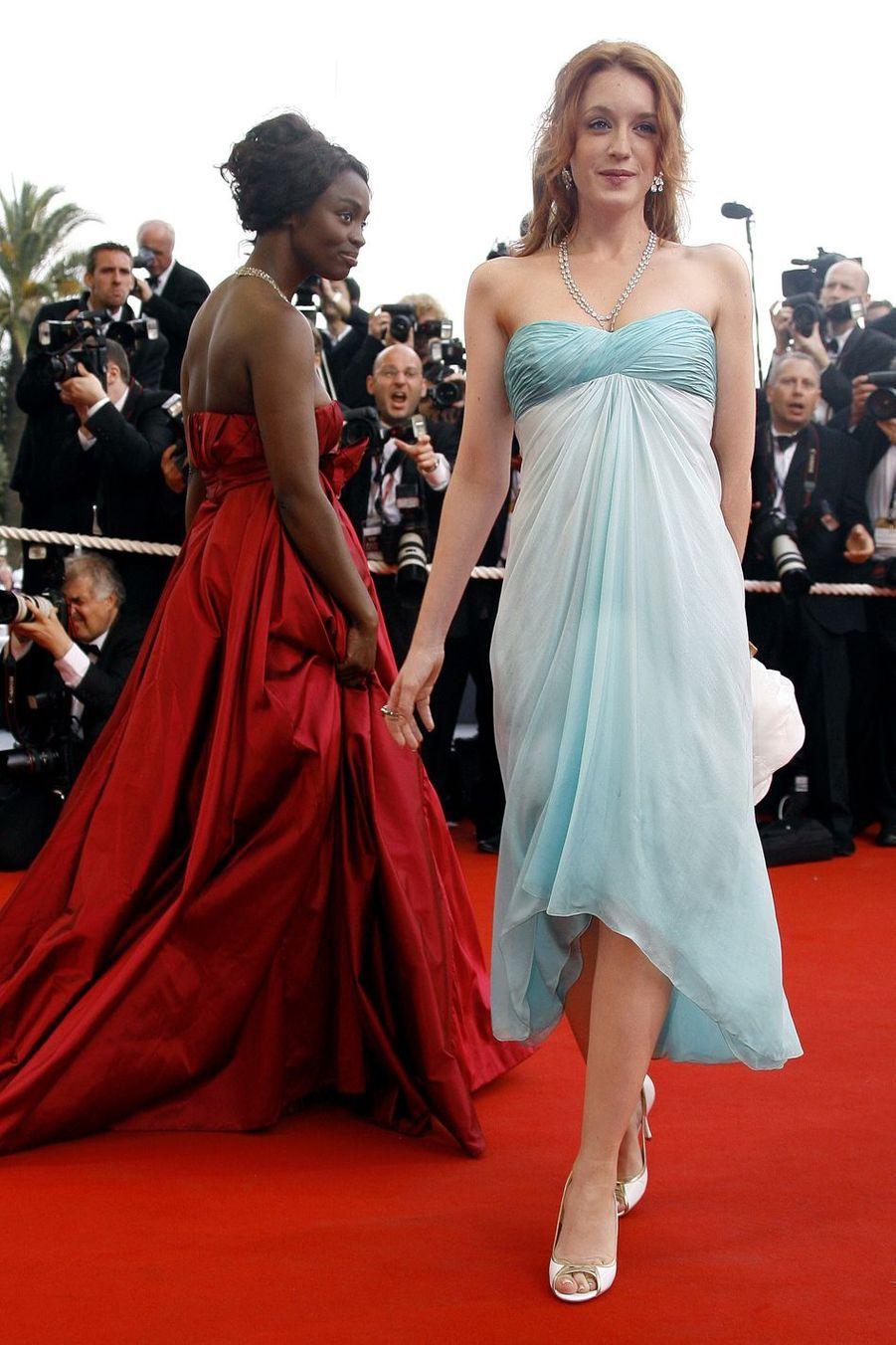Ludivine Sagnier au festival de Cannes en 2006.