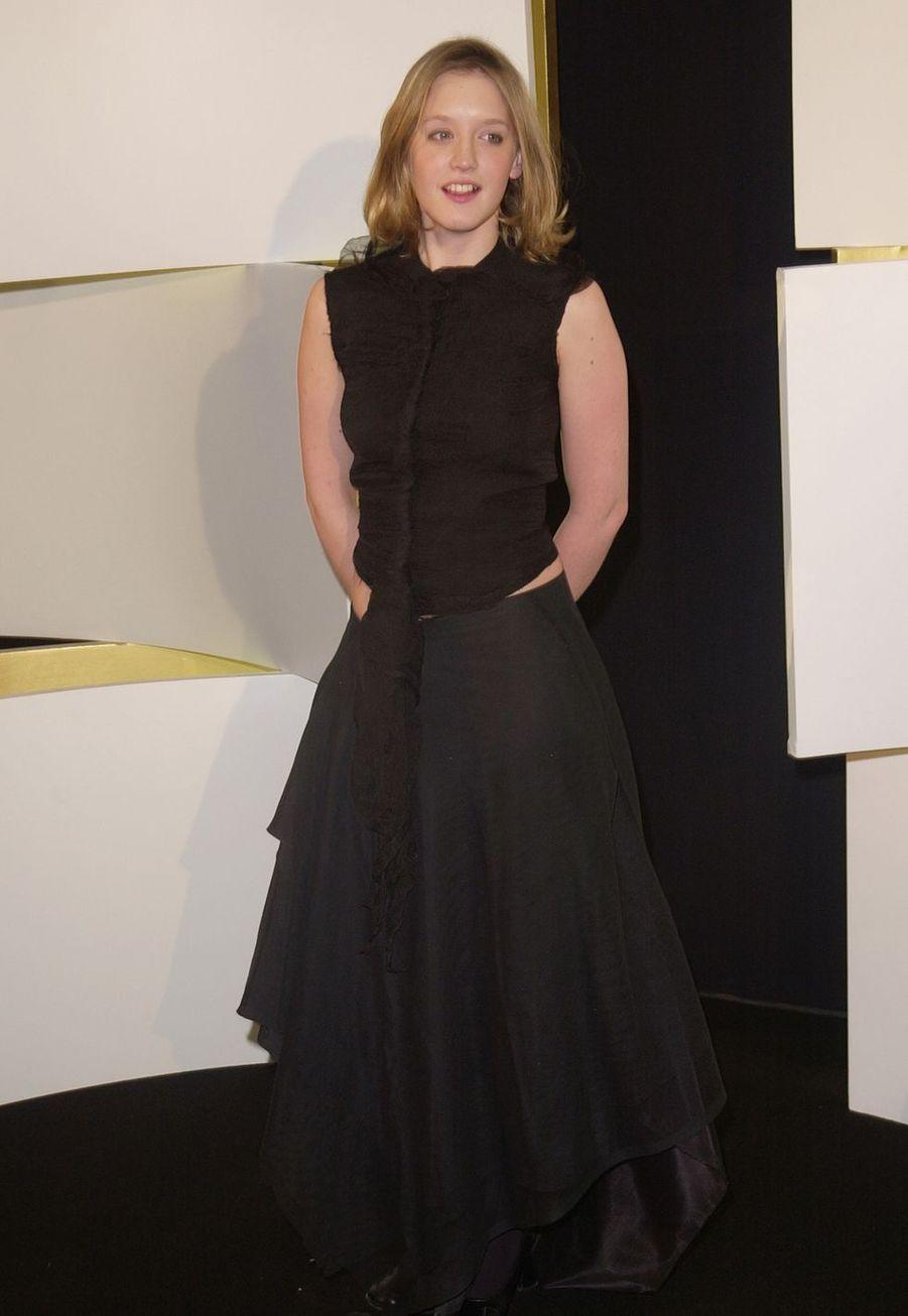 Ludivine Sagnier en 2002.
