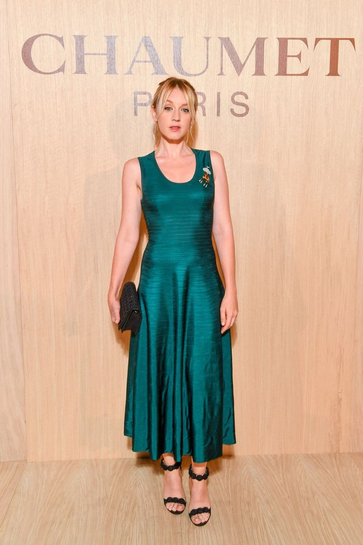 Ludivine Sagnier à la fashion week en 2018.