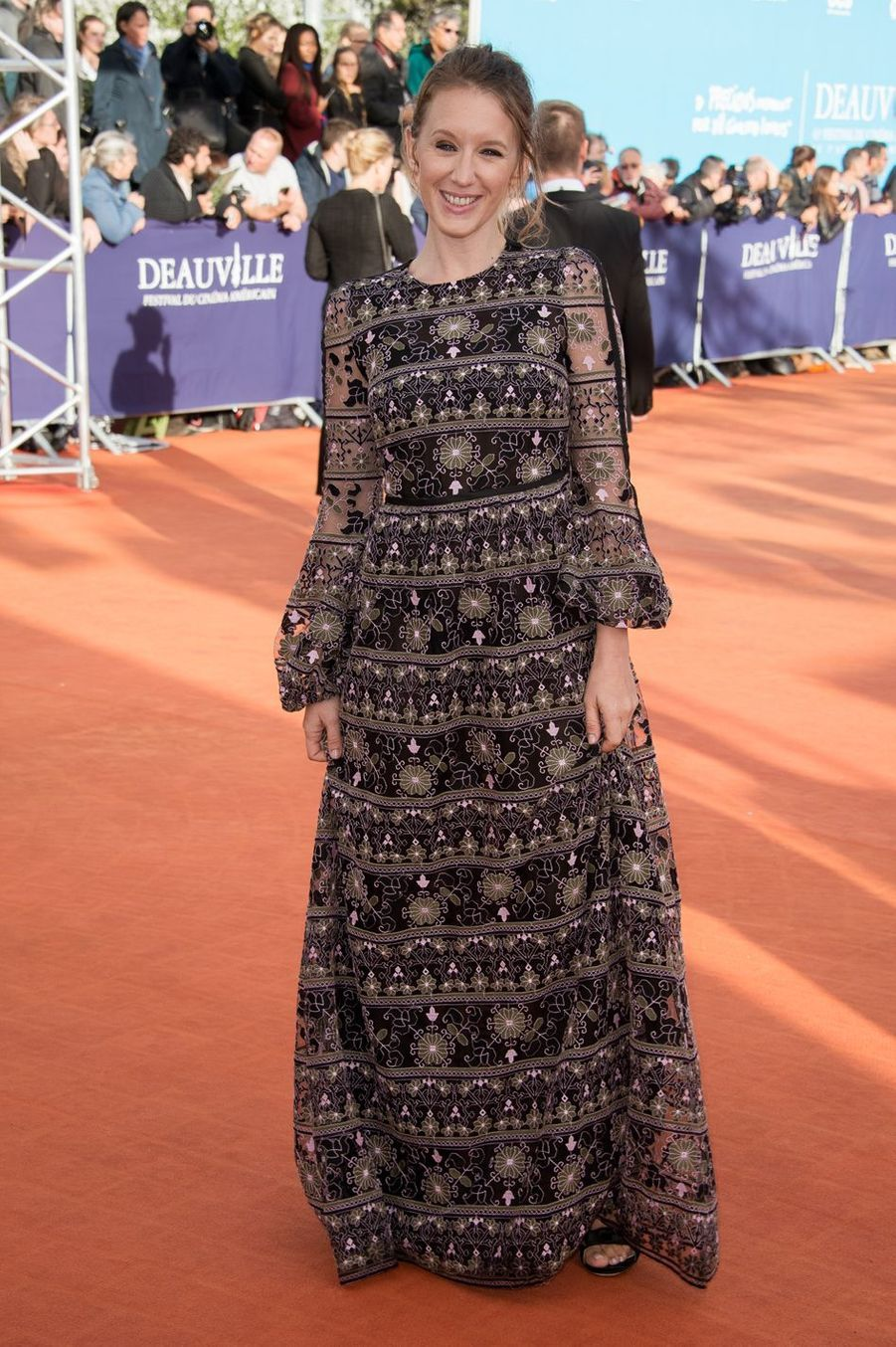 Ludivine Sagnier au festival du film américain à Deauville en 2017.