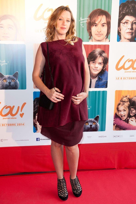 """Ludivine Sagnier à la première du film """"Lou"""" en 2014."""