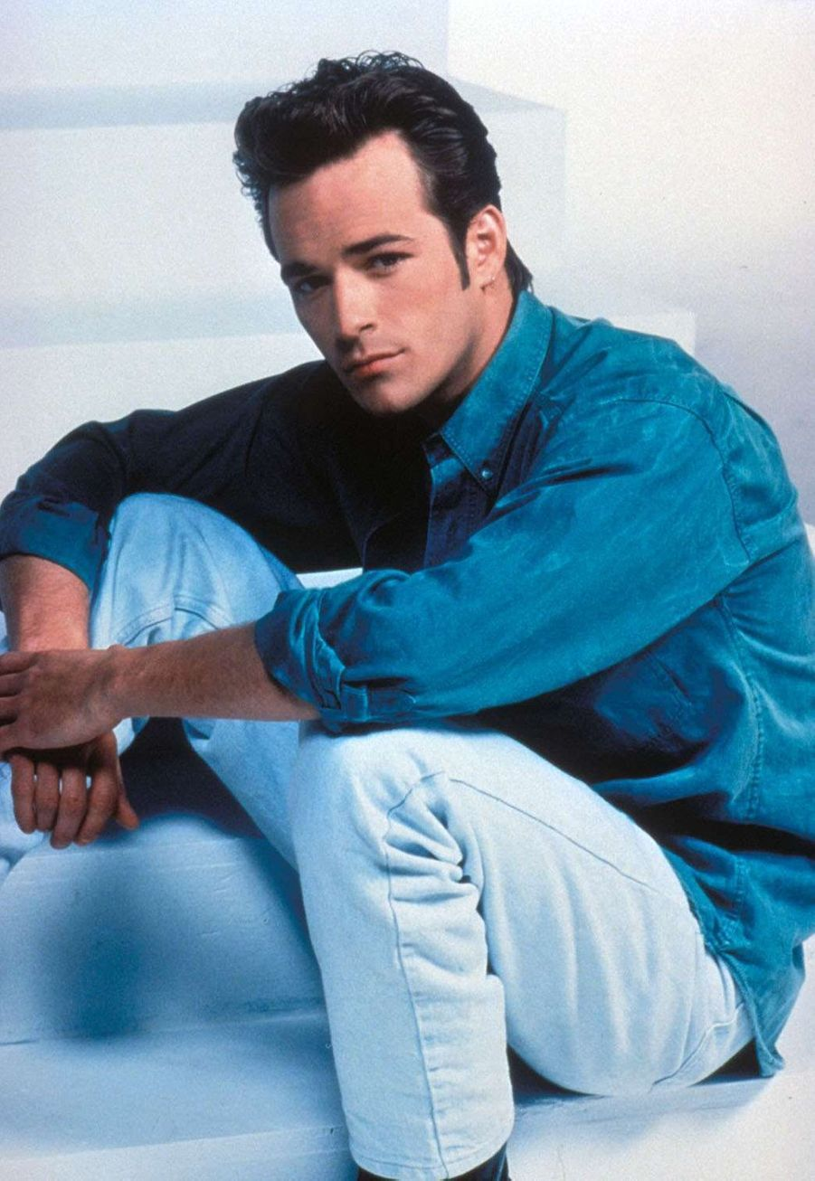 Luke Perry en 1990 pour «Beverly Hills»