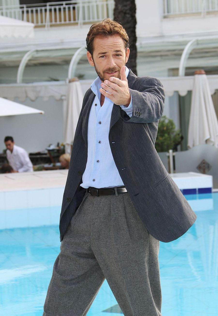 Luke Perry au MIPCOM à Cannes en 2010