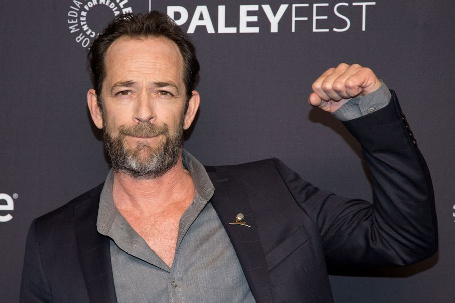 Luke Perry au PaleyLive pour «Riverdale» en 2018 à Los Angeles