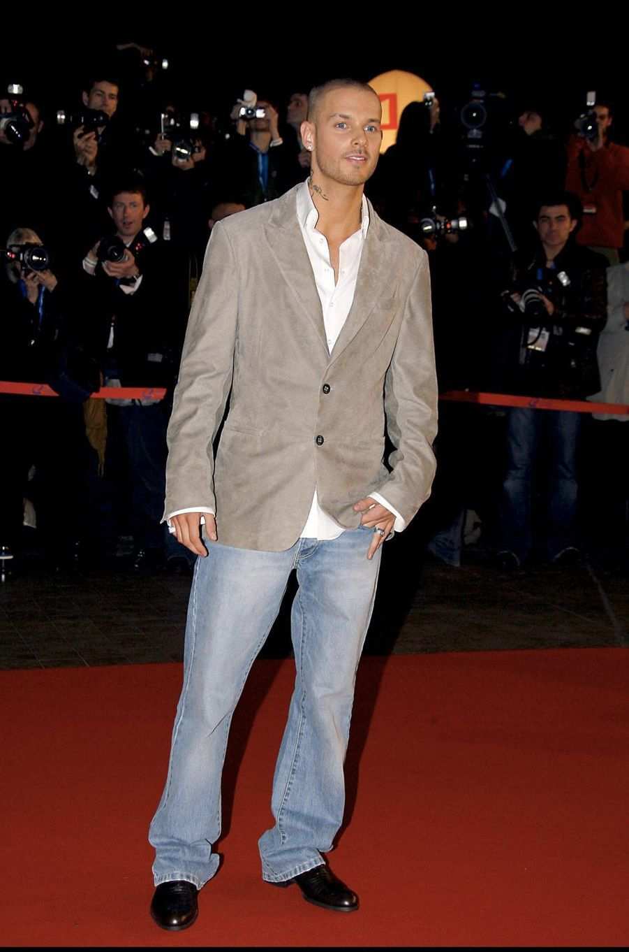 M. Pokora aux NRJ Music Awards en 2007