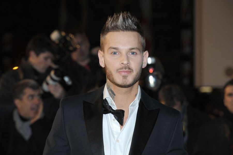 M. Pokora aux NRJ Music Awards en 2011