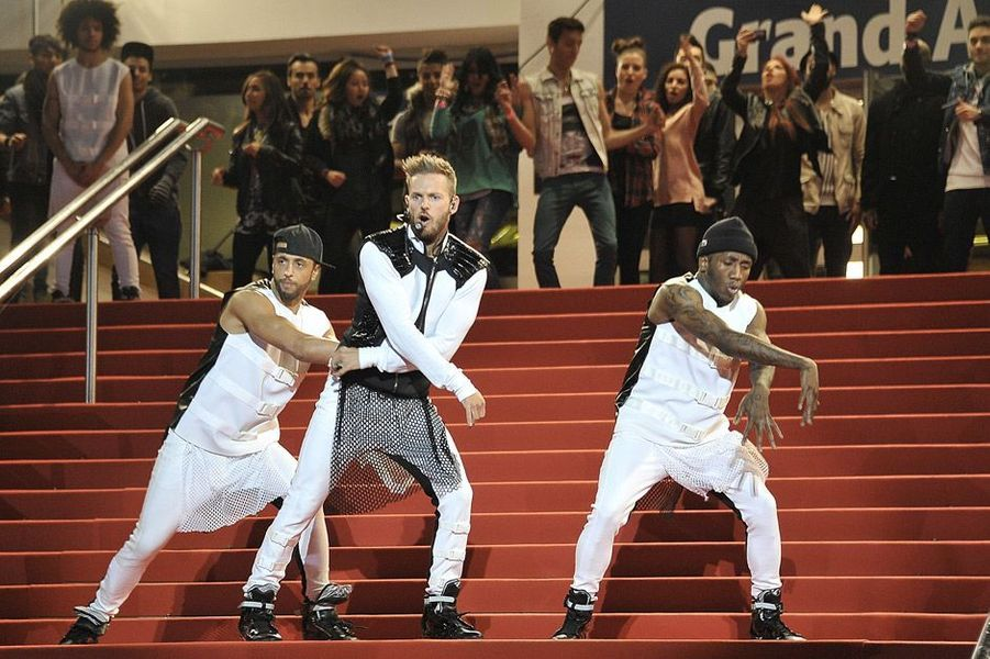 M. Pokora aux NRJ Music Awards en 2013