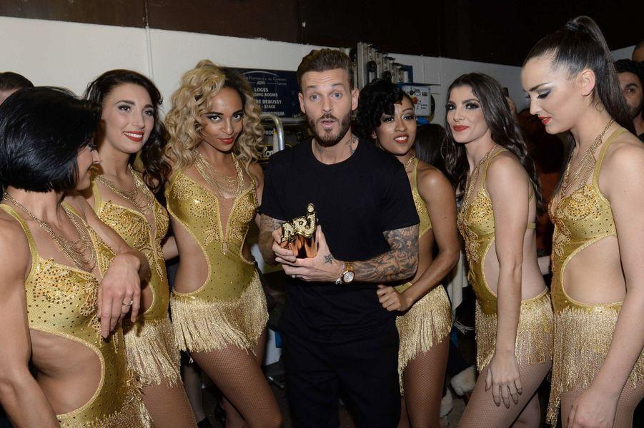 M. Pokora aux NRJ Music Awards en 2014