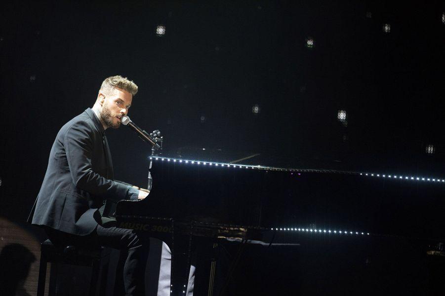 M. Pokora aux NRJ Music Awards en 2015