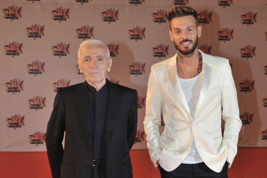 Avec Charles Aznavour