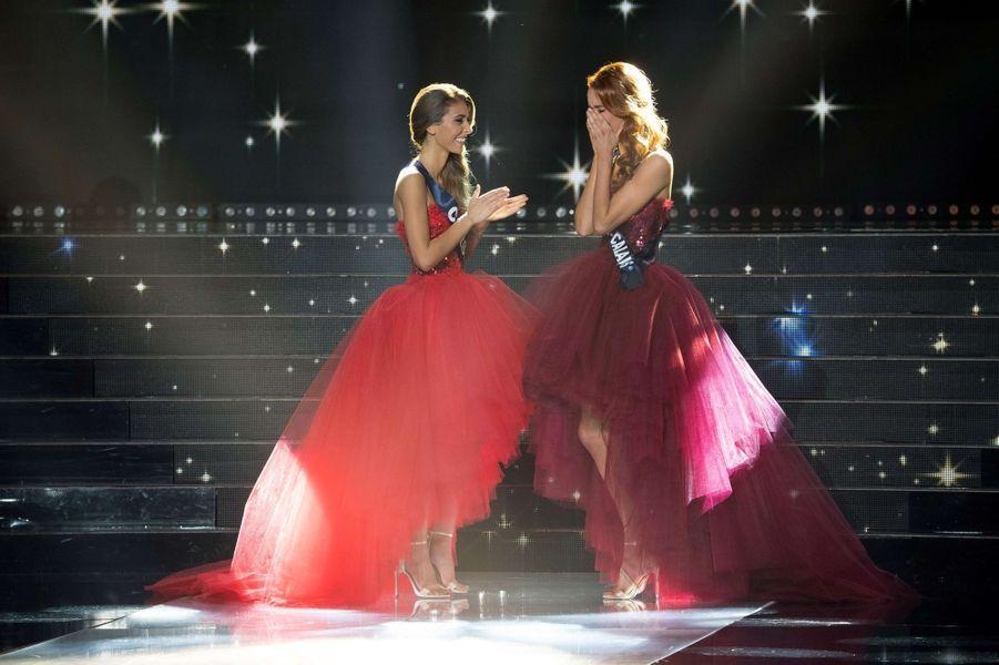 Maëva Coucke est élue Miss France, Miss Corse est première dauphine.
