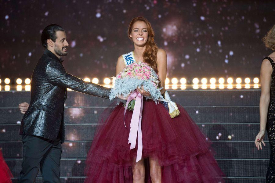 Miss Nord-Pas-de-Calais, Maëva Coucke a été élue Miss France 2018.