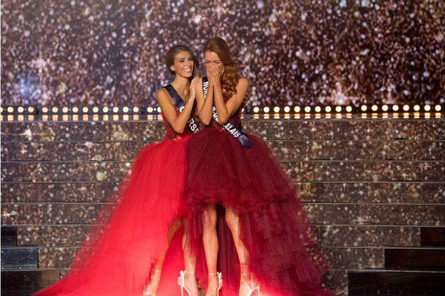 L'émotion de Maëva Coucke, élue Miss France 2018.