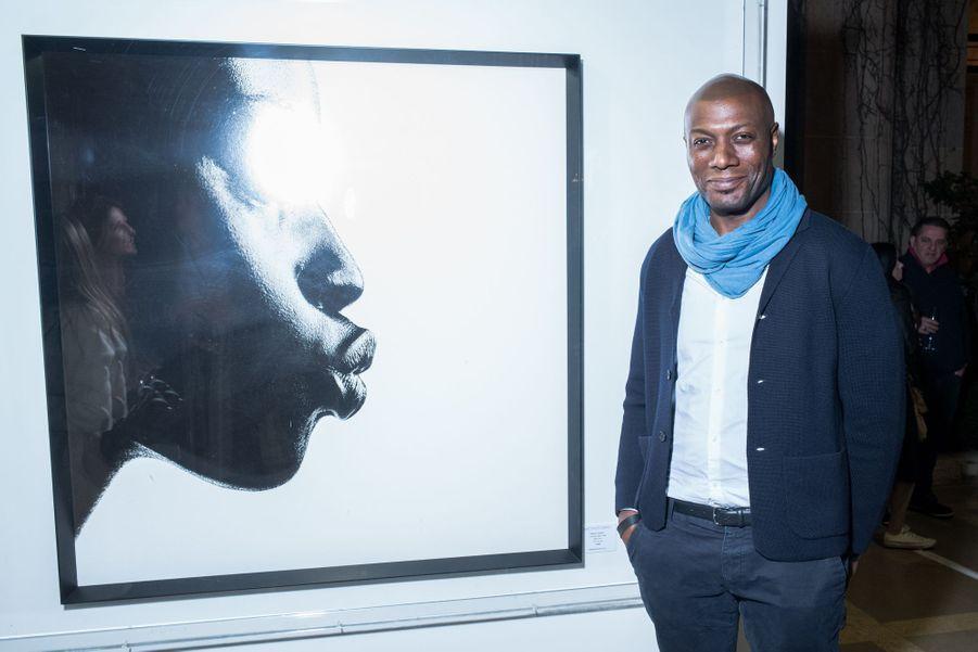 """Harry Roselmackau vernissage de l'exposition """"Femmes je vous aime"""" à l'Hôtel Plaza Athénée à Paris, le 25 février 2019."""