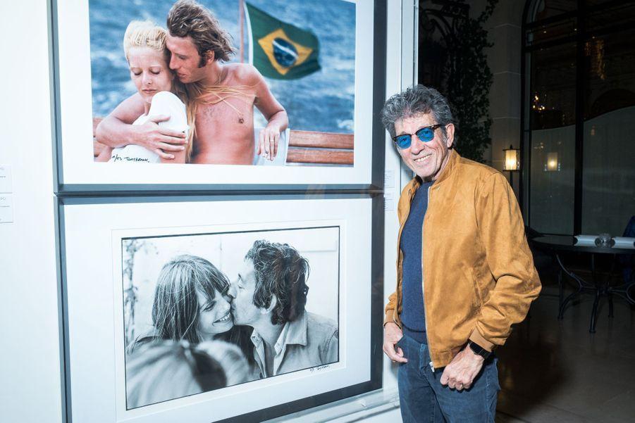 """Tony Frankau vernissage de l'exposition """"Femmes je vous aime"""" à l'Hôtel Plaza Athénée à Paris, le 25 février 2019."""