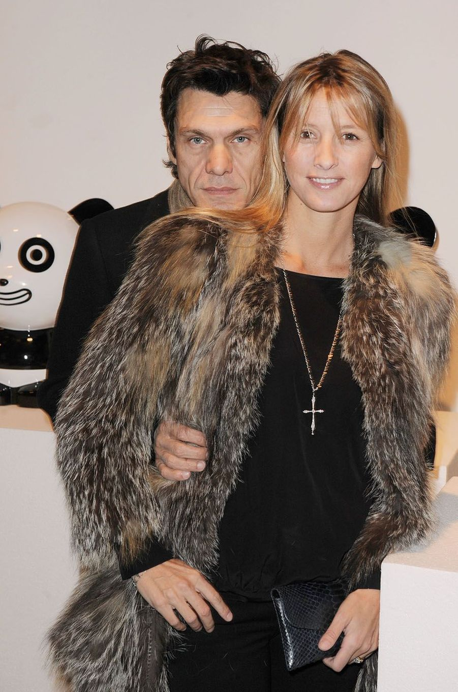 Marc Lavoine et SarahPoniatowski en 2010.