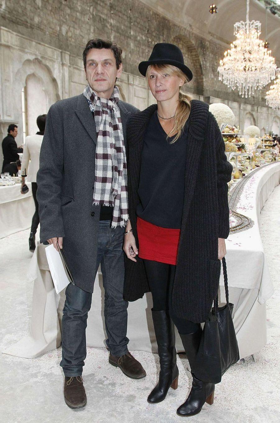 Marc Lavoine et SarahPoniatowski en 2011.